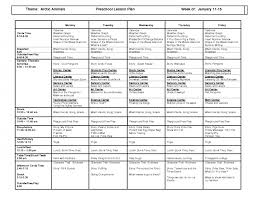 common core lesson plans printable plan template for pre k math