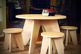childrens table and stools buy custom modern kids table and stools made to order from sodura