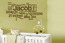 Wall Decals For Nursery Boy Baby Nursery Decor Ideas Wall Decor For Baby Boy