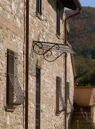 tettoia in ferro battuto pensilina in ferro battuto buy in spello on italiano