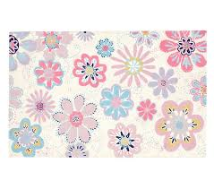 Pottery Barn Rugs Kids Dottie Floral Rug Pottery Barn Kids