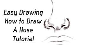 how to draw a nose using guidelines yzarts yzarts youtube