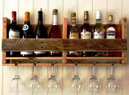 wooden under cabinet wine glass rack u2014 wow pictures under