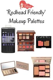makeup palettes for redheads how to be a redhead