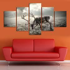 aliexpress com buy deer paintings for living room wall animal