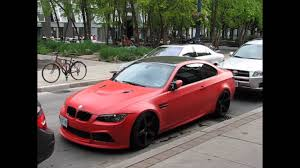 red bmw matte red bmw m3 youtube