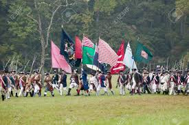Define Flag Continental Regimental Flags At The 225th Anniversary Of The
