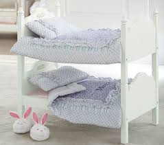 doll bunk bed u0026 bedding pottery barn kids