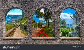 Capri Beautiful Famous Island Mediterranean Sea Stock Photo