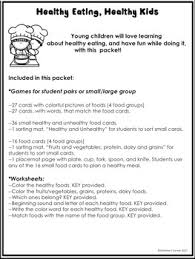 k kinder nutrition healthy foods healthy eating activities