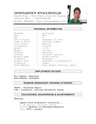 Sample Resume For Nurses Applying Abroad by Sample Resume Format Nurses Philippines Corpedo Com