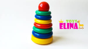 baby toy rings images Kid 39 s toys color stack rings colours for children rainbow jpg
