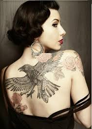 tattoo eagle girl 28 best women tattoo images and picture ideas