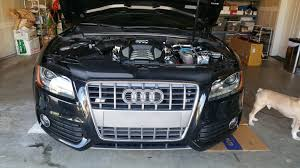 my audi changing the front grill on my audi s5 per day