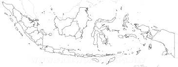 Blank Map Of The West Region by Indonesia Maps