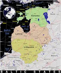 Baltic States Map Baltic States Public Domain Maps By Pat The Free Open Source