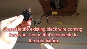 how to install sensor light motion sensor light outdoor decorative porch indoor for fixture