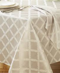 decor gold and white tablecloth lenox tablecloth lenox table