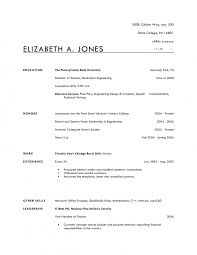 Great Resume Templates For Microsoft Word Plain Text Resume Template Resume Templates And Resume