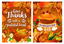 thanksgiving dinner poster set with turkey and pie by seamartini