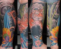 bloodline company tiger and lotus lower leg