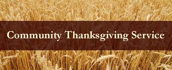 community thanksgiving service about us