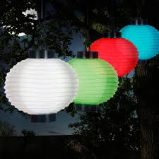 Rite Aid Home Design Solar Lights Pure Garden Outdoor Solar Chinese Lanterns Led Set Of 4