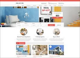 real estate blog templates free u0026 premium themes creative template