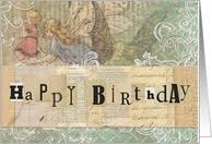 mixed media birthday cards from greeting card universe