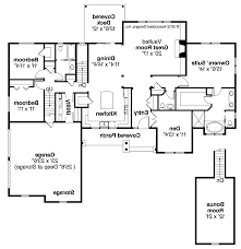 L Shaped House Plans by Floor Plan Ranch Style House Ranch House Plans From The Designers