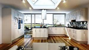 Big Kitchen Ideas Awesome Large Kitchen Design Ideas With Wooden Cabinets And Brown