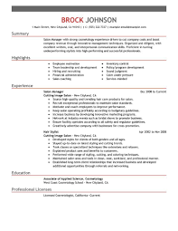 Resume For Store Manager Resume For Gym Receptionist Resume For Your Job Application