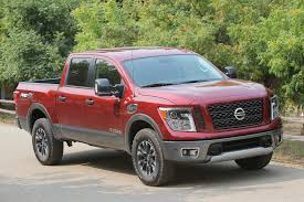 nissan truck titan red 2017 nissan titan v 8 crew cab first drive road test and review