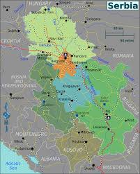 Map Of Serbia Serbia Regions Map Png