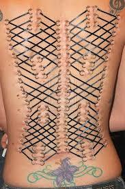 Back Corset Piercing Images Get Beautiful Corset Piercing Exles Piercingeasily Com