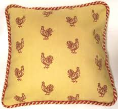 country french pillows t u0027s eclectic treasures rooster pillows