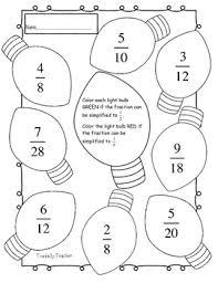 simply fraction worksheet christmas maths fdp pinterest