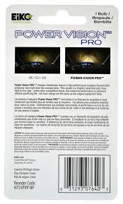 lexus certified korea amazon com eiko h755pvp bp h7 55w power vision pro halogen bulb