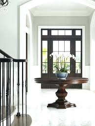 mid century modern entry table modern entry table round foyer round table best round entry table