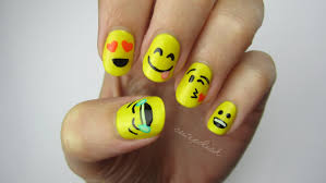 emoji nail art youtube