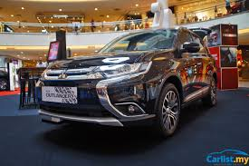 kereta mitsubishi lama 2017 mitsubishi outlander ckd on display at mid valley megamall