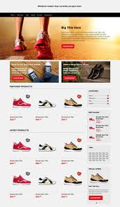 simple free web templates free ecommerce web templates psd css author e commerce home page psd
