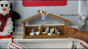diy american doll christmas nativity set craft idea for