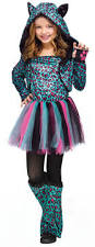 cute halloween costumes for toddler girls neon cheetah leopard print tutu dress cat cute child girls