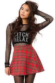 plaid skirt o mighty skirt the grunge plaid in karmaloop