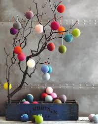 roost felt balls jubilee collection ornaments modish