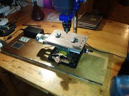 Diy Drill Press Table by Semi Automated Drill Press Table For Pcb Manufacture