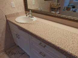 diy by design master bathroom updates continue diy faux granite