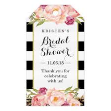 favor tags bridal shower gift tags zazzle