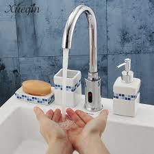 armaturen k che hände touch automatische sensor waschtischarmaturen küche